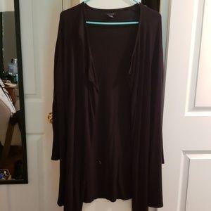 Sweaters - Floor length cardigan